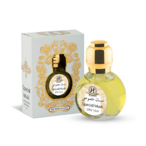 Hamidi Oud Perfumes Special Musk (Round Btl) Concentrated Perfume Oil Attar