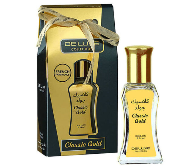 CLASSIC GOLD DELUXE COLLECTION CONCENTRATED PERFUME OIL HAMIDI OUD & PERFUMES