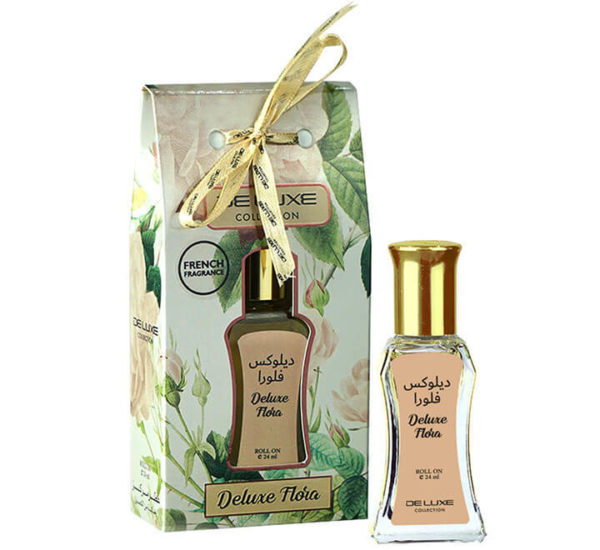 DELUXE FLORA DELUXE COLLECTION CONCENTRATED PERFUME OIL HAMIDI OUD & PERFUMES