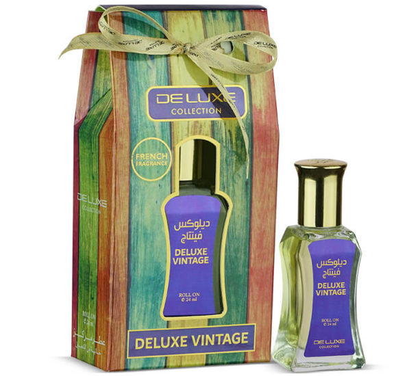 DELUXE VINTAGE DELUXE COLLECTION CONCENTRATED PERFUME OIL HAMIDI OUD & PERFUMES