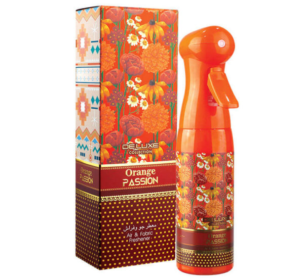 ORANGE PASSION DELUXE COLLECTION AIR FRESHENER HAMIDI OUD & PERFUMES