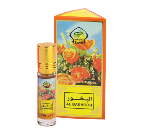 Tayyib Series Non Alcoholic Al Bakhoor 6ml Roll On Pack of 6