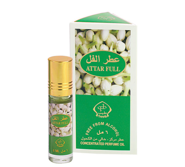 Tayyib Series Non Alcoholic Attar Full 6ml Roll On Pack of 6